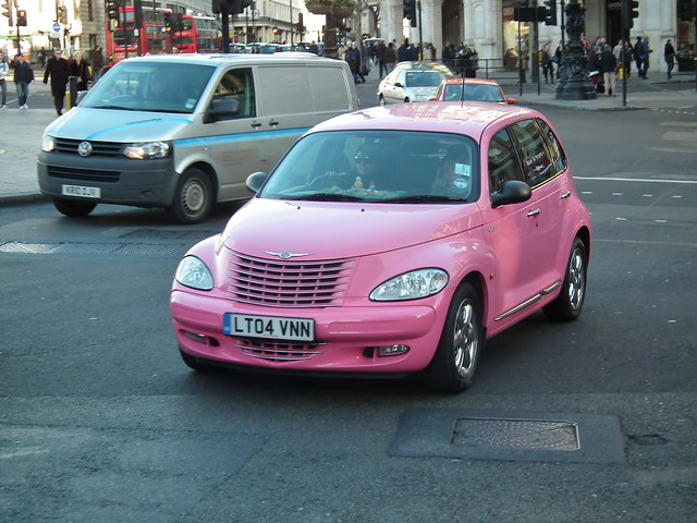 PT in Pink | 2004 Chrysler Pt Cruiser Limited | By: kenjonbro | Flickr - Photo Sharing!