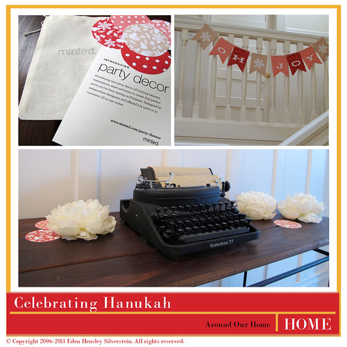 Chanukah Celebrations: Decor from Minted