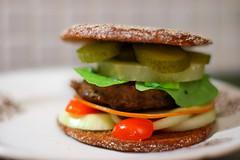 blt(0.0), slider(0.0), produce(0.0), breakfast sandwich(0.0), cheeseburger(0.0), sandwich(1.0), meal(1.0), lunch(1.0), breakfast(1.0), hamburger(1.0), meat(1.0), veggie burger(1.0), food(1.0), dish(1.0), fast food(1.0),