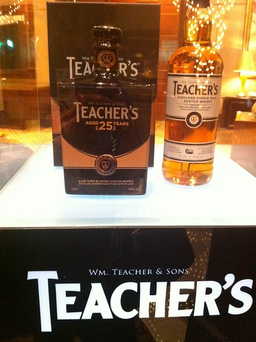 Teacher's 25 Years & Highland Single Malt