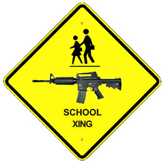 Caution: School Crossing