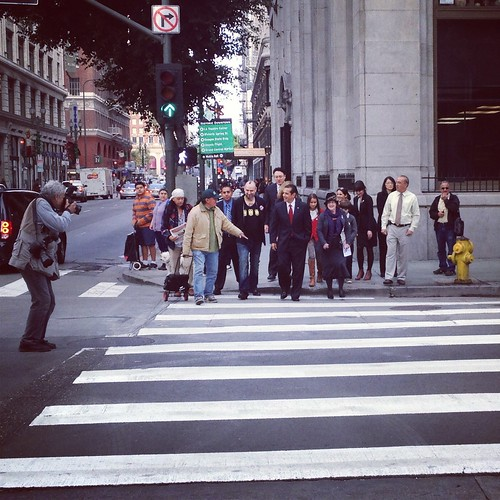 Continental crosswalks press conference