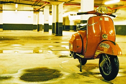 Subterranean parking by vespamore photography