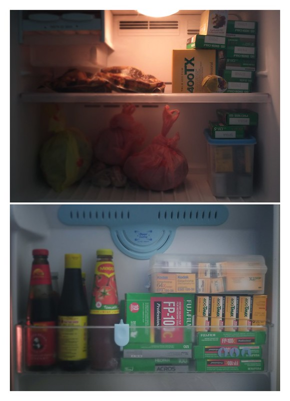 Films in fridge