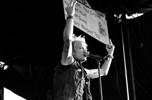 Deryck Whibley- Mansfield, MA, Warped Tour 2016.
