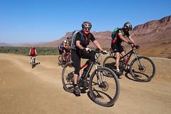 "Faszinierendes Marokko per Bike: Vom Hohen Atlas über die ""Straße der Kasbahs"" in die Sahara. Foto: Archiv Andi Heckmair."