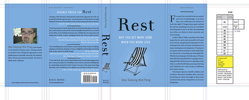 Proof of REST dust jacket