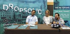 Dropsolid - Monday Exhibit Hall Setup - DrupalCon Dublin 2016