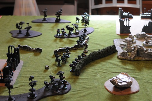 Dark Angel force deployment