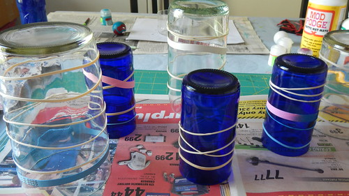 Striped Vases 9