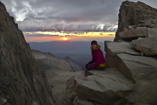 Sunrise Window of Mount Whitney