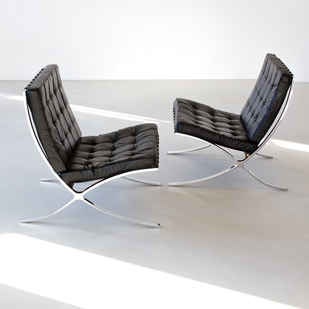 Astounding Mies Van Der Rohe Barcelona Chair Ref 02394 Designer Lud Creativecarmelina Interior Chair Design Creativecarmelinacom