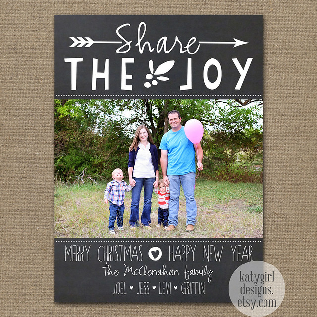 Share the Joy Christmas Card