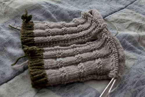Quintessence II socks: in progress