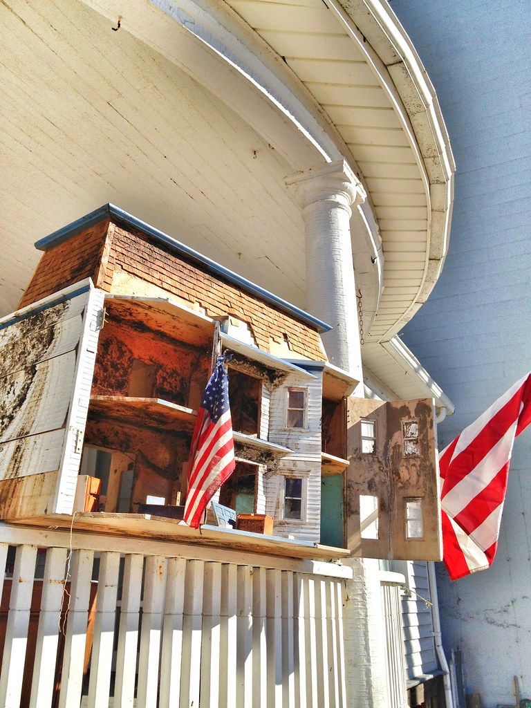 Sandy Flooded Dollhouse