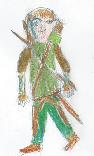 Lucas's Halloween Costume Design: Wood Elf