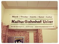 09.11.2012 Kulturbahnhof, Uslar