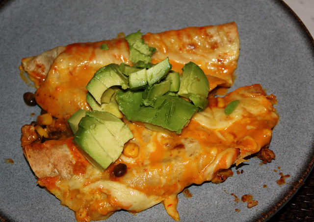 Chicken Enchiladas with Creamy Pumpkin Sauce 2