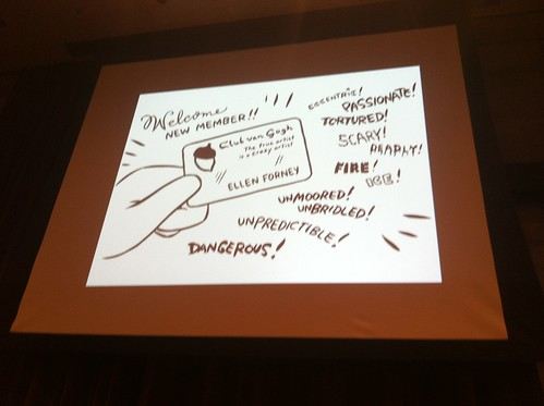 Ellen Forney at the Seattle Public Library