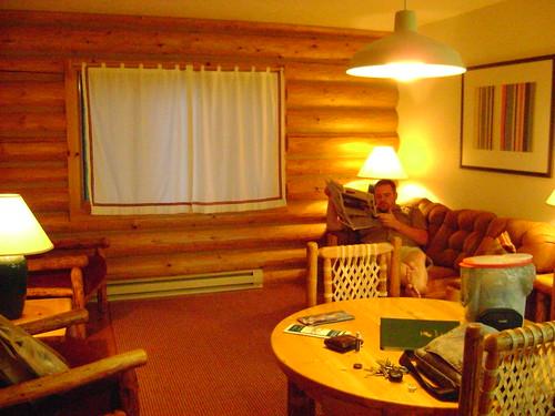 Teton Cabin Interior