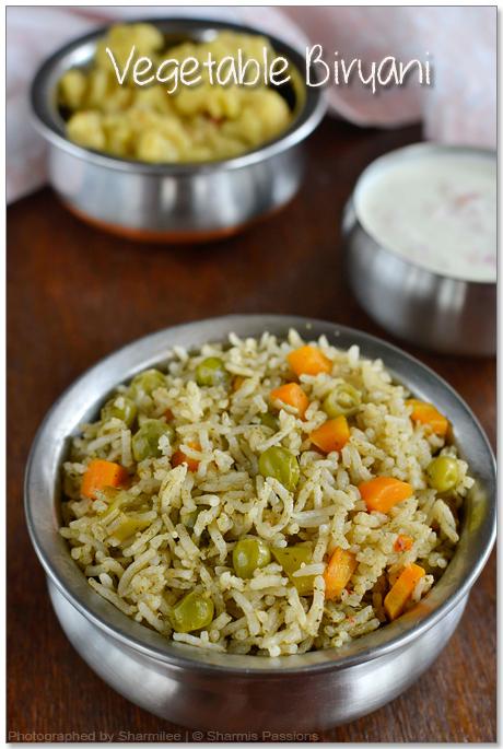 Vegetable Biriyani Recipe