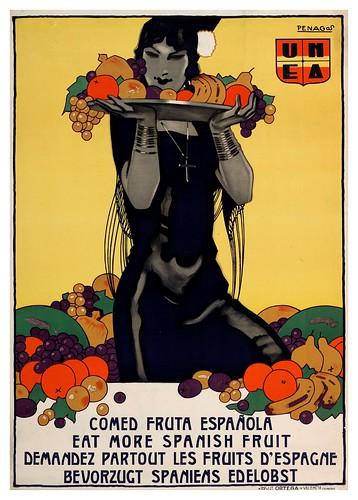 009-Comed fruta española-1930-Copyright Biblioteca Nacional de España