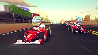 F1 Race Stars no PS3