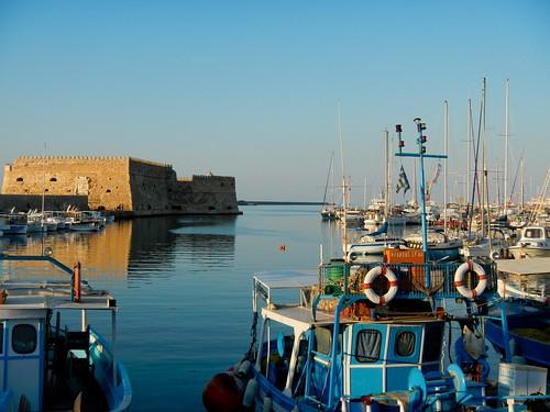 Iraklio, Crete Harbor