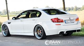 BMW F10 M5 BBS LM-R wheels 21 inch