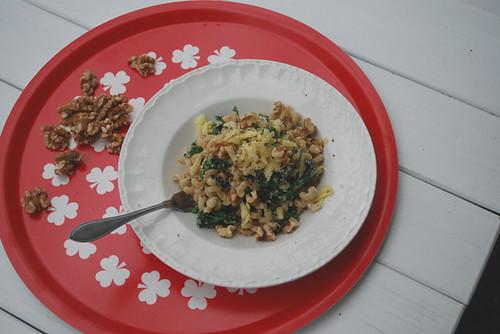 Grönkålspasta med vb ost och valnötter by abris2009