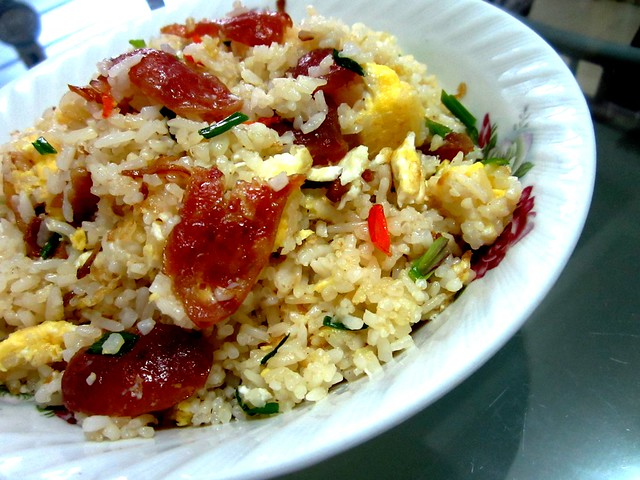 Lap cheong fried rice