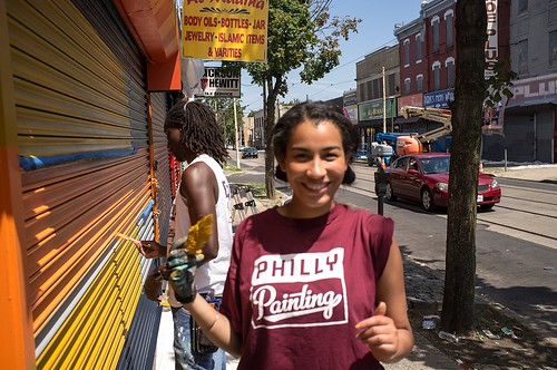 Philly Painting helps an older neighborhood come alive (photo courtesy of Philly Painting)