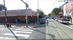 Germantown Ave at W Lehigh in Philladelphia (via Google Earth)