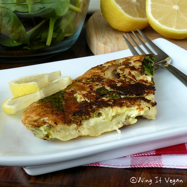 Wing It, Don't Fling It! Spanish Tortilla