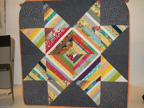 Tracy's string quilt block lotto quilt