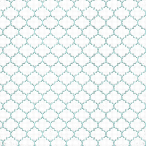 free solid LIGHT TURQUOISE ML Moroccan  Tile distressed graph paper