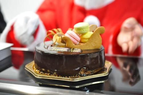 西武池袋本店 クリスマスケーキ ヴェタメール スプランディード
