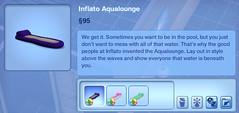 Inflato Aqualounge