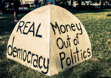 Real democracy: Money Out of Politics by ˇBerd