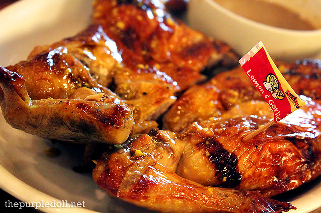 Lemon and Garlic Peri-Peri Chicken Whole P490