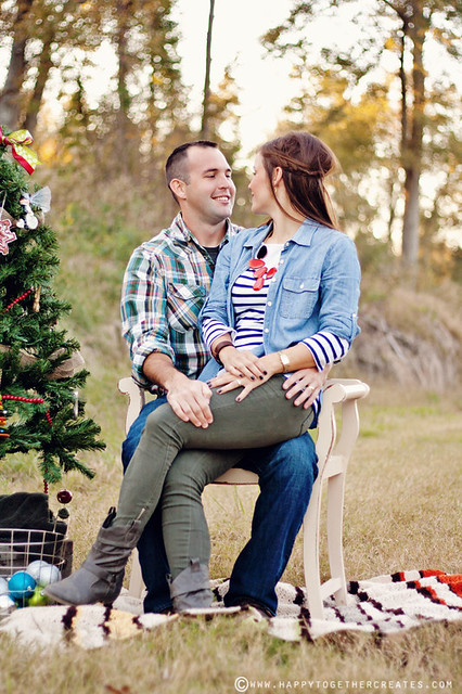 Christmas Couple Photo Session