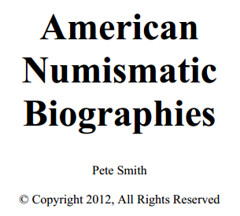 American Numismatic Biographies 2012