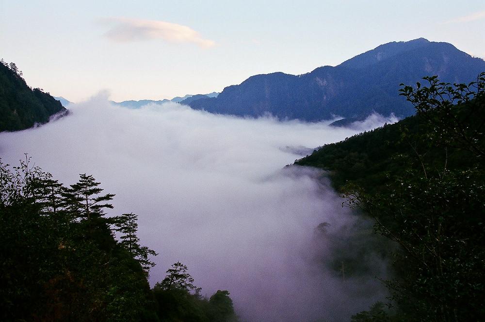 上個月的清境、福壽山、花蓮三天兩夜之旅(底片版)