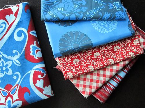 fabrics from Sew Love Fabrics