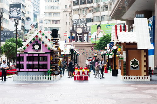 LEGO Village@Time Square, Hong Kong