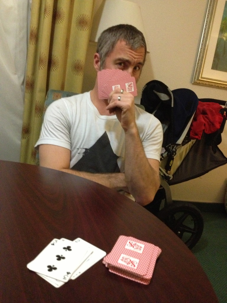 B the card shark