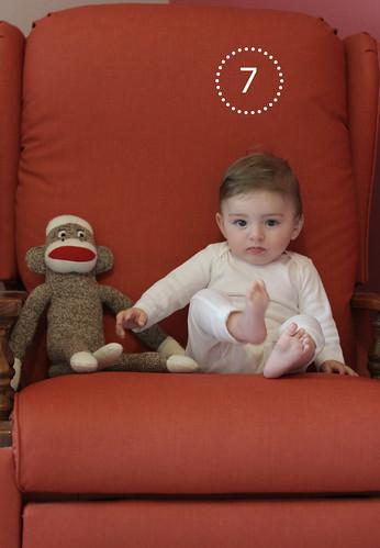 Alice Linda, 7 months