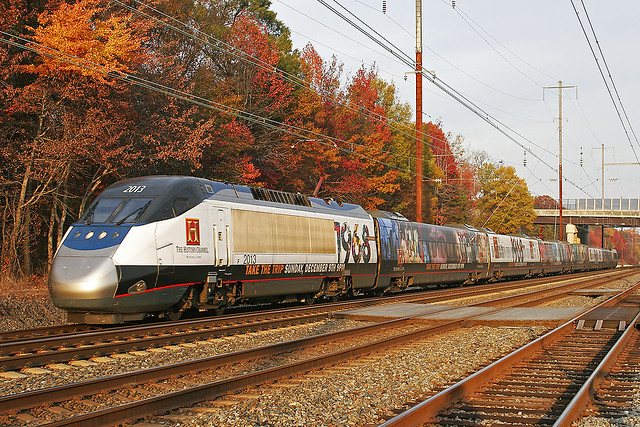 Amtrak - History Channel Acela