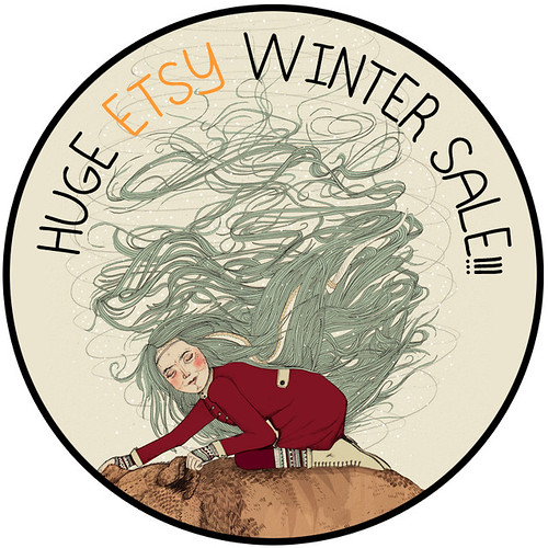 Etsy Winter Sale by www.sandradieckmann.com