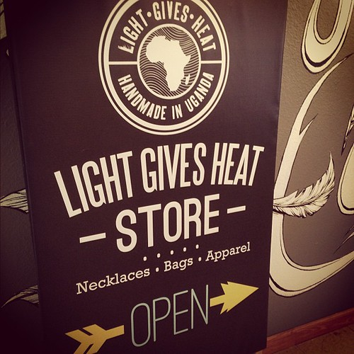 So excited that we get to carry Light Gives Heat jewelry and bags at Tangle.